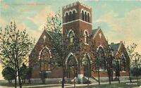 1910 1st Presbyterian Church Edmond Oklahoma Slack postcard 6965