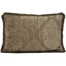 Winchester Rectangular Cushion Cover - Jacquard - Fringed Border - Riva Paoletti