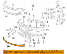 GM OEM FRONT BUMPER-Lower Extension 15917769
