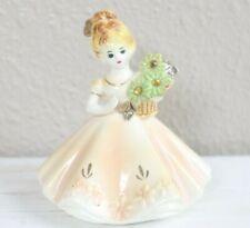 Vintage Joseph Originals November Topaz Porcelain Figurine