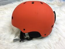 Burton Anon Mens Raider Snowboard Ski Helmet Orange LARGE  59 to 61cm
