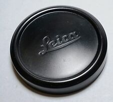 Leitz Leica Camera 63mm Metal Lens Cap Summicron M 90/2 Black Paint