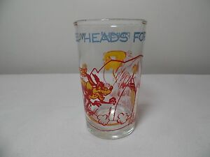VIntage Whiley Coyote Juice Glass Tumbler