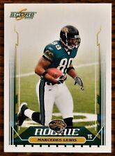 2006 Score #357 Marcedes Lewis RC Rookie Jacksonville Jaguars