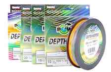 FILO TRECCIATO POWER PRO DEPTH HUNTER MULTICOLOR 0,28mm / 20kg / 300mt