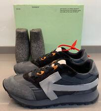 Off-White Arrow Running Trainers Dark Grey Size 7 UK 41 EU Brand New Boxed