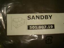>New Original IKEA cover set for SANDBY 2 seat sofa in BLEKINGE BROWN 100%COTTON