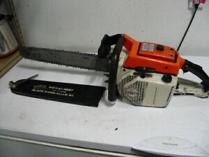 """Stihl 051 AV Electronic chainsaw chain saw 20"""" bar 404 ripper chain 076 056 075"""