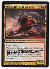 Signed Spanish Mogis, God of Slaughter NM Artist Peter Mohrbacher MTG Magic!