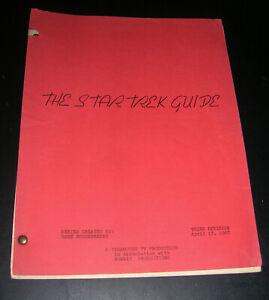 Star Trek The Original Series Star Trek Guide Third Revision