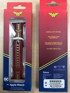 DC Comics Wonder Woman Apple Watch Bands Size Fits: 42mm & 44mm