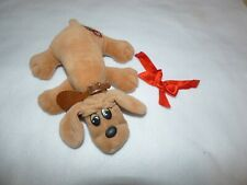 TONKA POUND PUPPY VINTAGE 1985 W/ COLLAR & BOW GREAT PRE-OWN