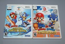Wii Mario & Sonic at the Olympic Summer & Winter Games 2 Complete Games