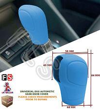 UNIVERSAL AUTOMATIC CAR DSG SHIFT GEAR KNOB COVER PROTECTOR BLUE–Nissan 1