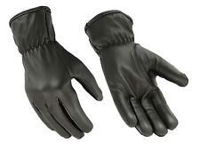 HUGGER Water Resistant Unlined Basic Seamless Riding Motorcycle Gloves
