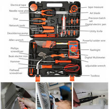 35pc Electrician's Screwdriver Wrench Bag Kit Tools Home Commercial Electric Set