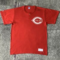 Russell Athletic Mlb Cincinatti Reds Baseball Shirt Mens XL