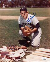 "YOGI BERRA Authentic Hand-Signed ""New York Yankees"" 8x10 Photo (JSA COA)"