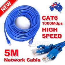Eway (5M) High Quality RJ45 Cat 6 CAT6 Ethernet LAN Network Cable 100M/1000Mbps