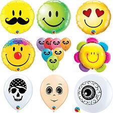 Façade & Œil imprimé latex, Bulle & aluminium Ballons {Qualatex}