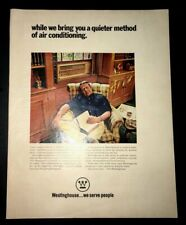 Life Magazine Ad WESTINGHOUSE Air Conditioning 1970 Ad