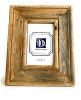 Natural mango wood photo frame 10x15cm/4x6in