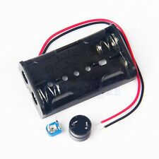 Metal Detector Locator DC Electronic Production Case 3-5V Simple DIY Kit MA