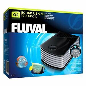 Fluval Q2 Airpump 200L-600L  Aquarium Fish Tank Filter EXPRESS AIR FREIGHT