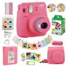 Fujifilm Instax Mini 9 Camera Polaroid + 20 Sheet Instant Film + Case + Accssory