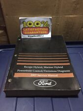 2007 Ford Escape Hybrid Powertrain Control & Emissions Service Repair Manual