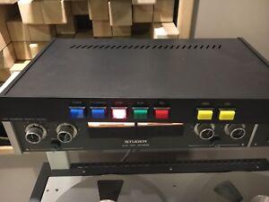"""19"""" remote control for Studer A80 (RC, VU, etc)"""