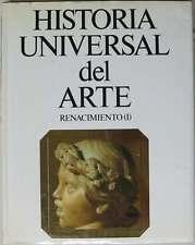RENACIMIENTO (I) - HISTORIA UNIVERSAL DEL ARTE TOMO 5 - PLANETA 1988 VER INDICE