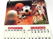 Coca-Cola calendrier 1980 usa Coke Calendar motif Olypiade Moscou + lake placid