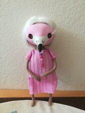 OOAK Art doll Flamingo Bird
