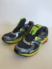 New balance M860GY3 mens size 9, EU 42.5, running shoes Gray Orange green 860V3
