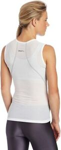Craft Stay Cool Mesh Superlight Woman's Cycling Running Top White L Chest 87cm
