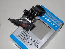Shimano Deore 2x10 Front Derailleur, Fd-M618-H / Down Swing, Dual Pull
