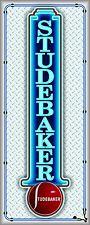 STUDEBAKER CAR SHOW/SALES AUTO DEALER NEON STYLE BANNER SIGN GARAGE ART 2' X 5'