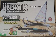 Uberstix Scavenger Dragster & Land sailer Uber Stix New Construction Toy