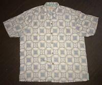 Men's Tommy Bahama Hawaiian Silk Shirt Size XL