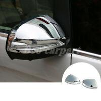 Für Benz V-Class Glänzendes Silber Spiegelkappen Außenspiegel Rahmen Zierleisten