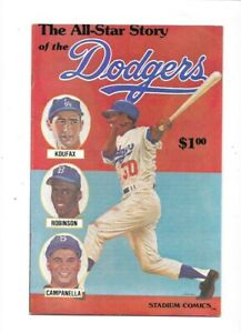 THE ALL-STAR STORY OF THE DODGERS  APRIL 1979 ROBINSON KOUFAX CAMPANELLA
