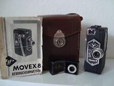 Agfa Schmalfilmkamera MOVEX 8   1937 mit Topasfilter  , Gebrauchsanweisung
