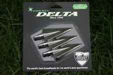 "Zwickey Delta, 2 Blade, Screw In Broadheads 11/32"", 170 grains, 3 pack"
