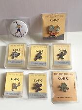 8 pins Originales Cobi Juegos Olimpicos 92 Barcelona + Petra paralímpica
