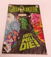 1970 Green Lantern #75 DC Comics VINTAGE