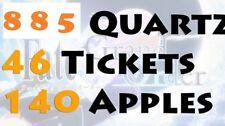 Fate Grand Order F/GO Starter Account 885 Quartz 47 tickets Jeanne Alter Merlin