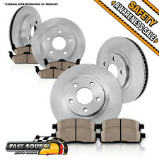 Front and Rear Brake Disc Rotors & Ceramic Pads Kit FITS 2006 2007 NISSAN MURANO