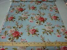 Red Rooster Fabrics 100% cotton   Mrs Miniver  25905 blue 1/2 yard