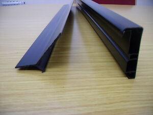Flat Roof Gutter Drip Trim 2.5M - DIY EPDM Membrane Roofing Permaroof 2 Parts UK